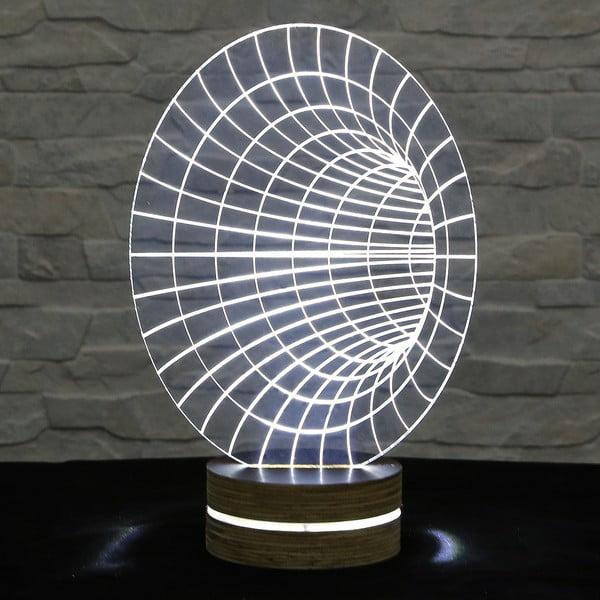 3D stolová lampa Hole