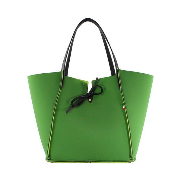 Neoprénová kabelka Fiertes, zelená