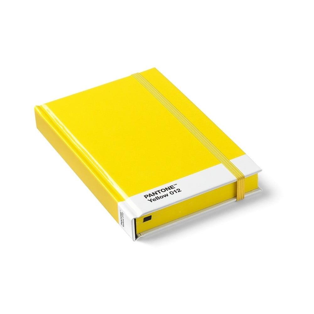 Malý žltý zápisník Pantone