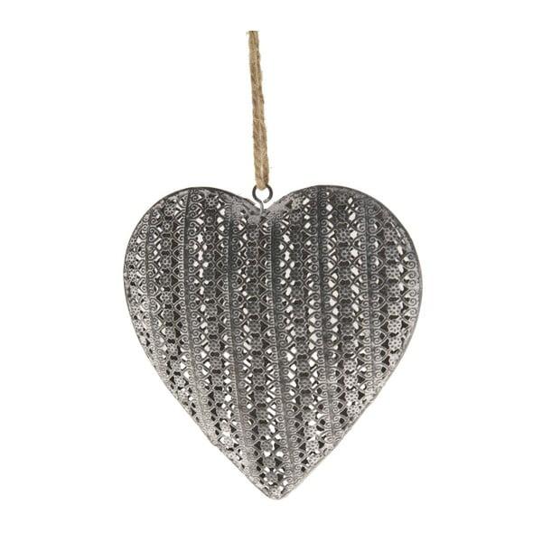 Závesná dekorácia Antic Line Heart
