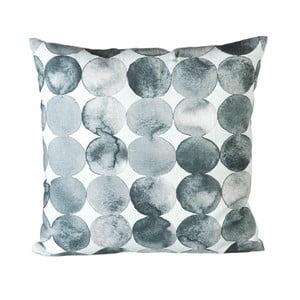 Vankúš s výplňou Spheres Grey/White, 45x45 cm