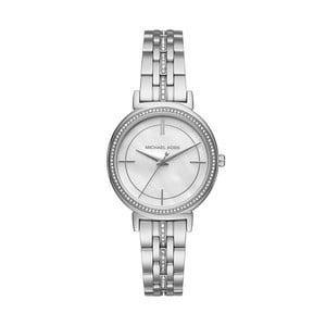 Strieborné dámske hodinky Michael Kors