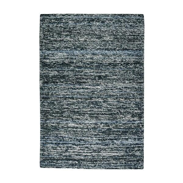 Vlnený koberec Deniza Charcoal, 120x180 cm