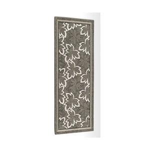 Sivo-hnedý vysokoodolný kuchynský koberec Webtapetti Maple Fango, 55 x 115 cm