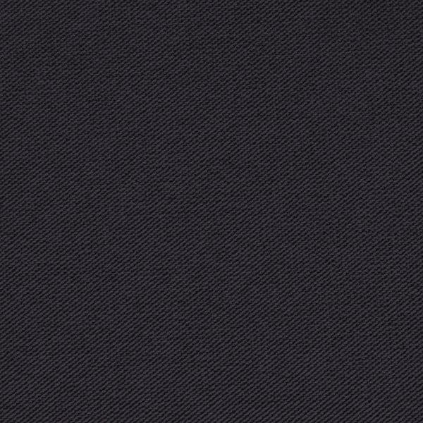 Tmavosivá trojmiestna pohovka VIVONITA Sondero, čierne nohy