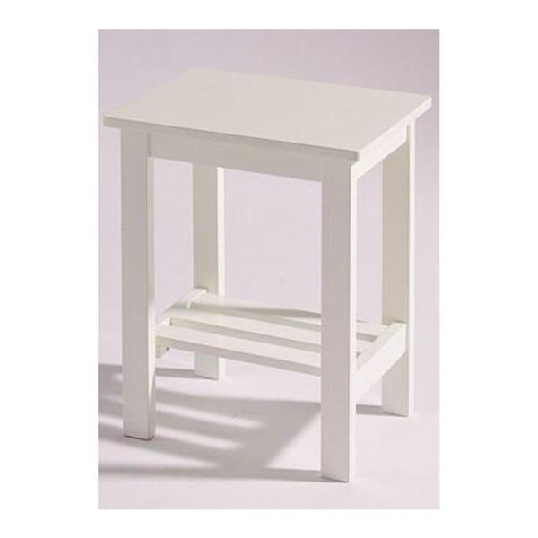 Biely nočný stolík  Støraa Trento