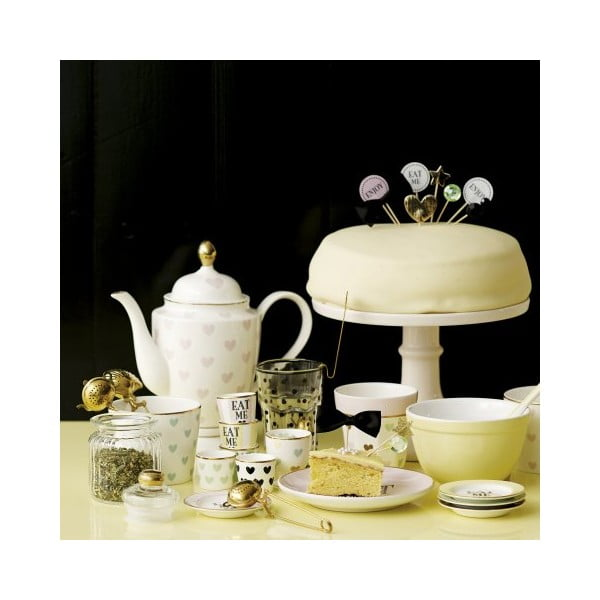 Kanvica na čaj so srdiečkami Miss Etoile, 1 l