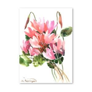 Plagát Flowers in Pink od Suren Nersisyan