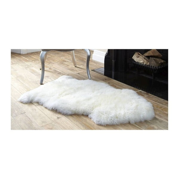 Biela ovčia kožušina Royal Dream Sheep, 100 × 60 cm