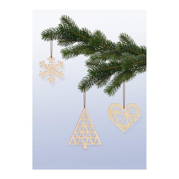Vianočné ozdoby Novoform Xmas Hangers Light