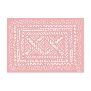 Koberec z vinylu Tribal Rosa, 120x170 cm
