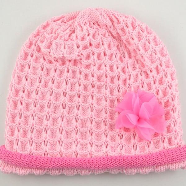 Dievčenská čapica Rulon, ružová