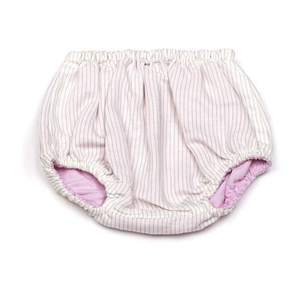 Obojstranné nohavičky na plienky Pink Diaper, od 3 do 6 mesiacov
