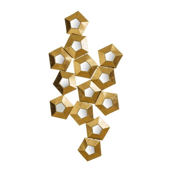 Dekorácia Golden Hex, 114x59 cm