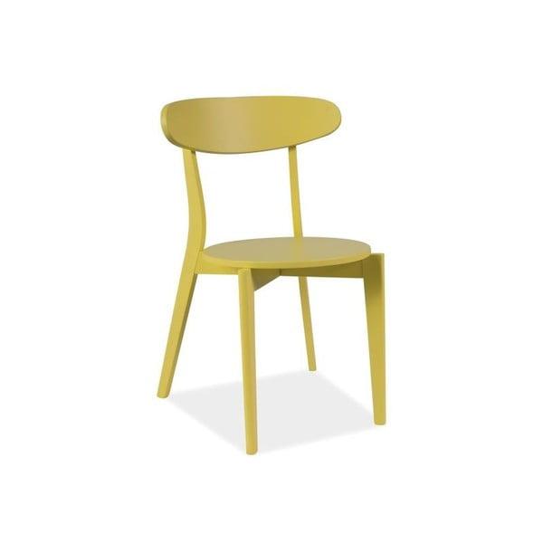 Stolička Coral, žltá
