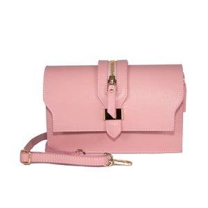 Kožená kabelka Andrea Cardone 2019 Pink
