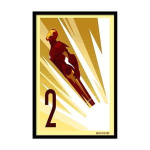Plagát Flying Hero, 35x30 cm