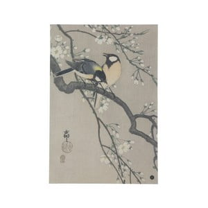 Plagát z ručne vyrábaného papiera BePureHome Blossom, 47 × 32 cm