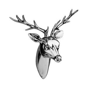 Soška Deer Head Silver