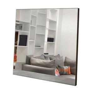 Nástenné zrkadlo s hnedými detailmi TemaHome Aurora