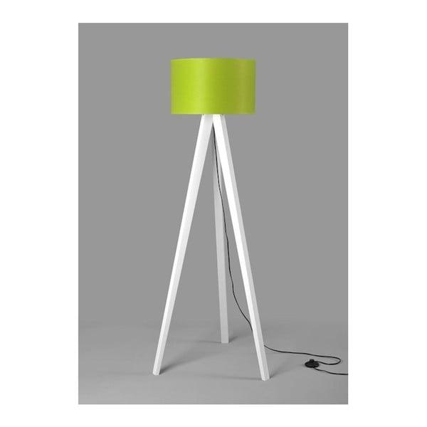 Stojacia lampa Tripod Lime/White