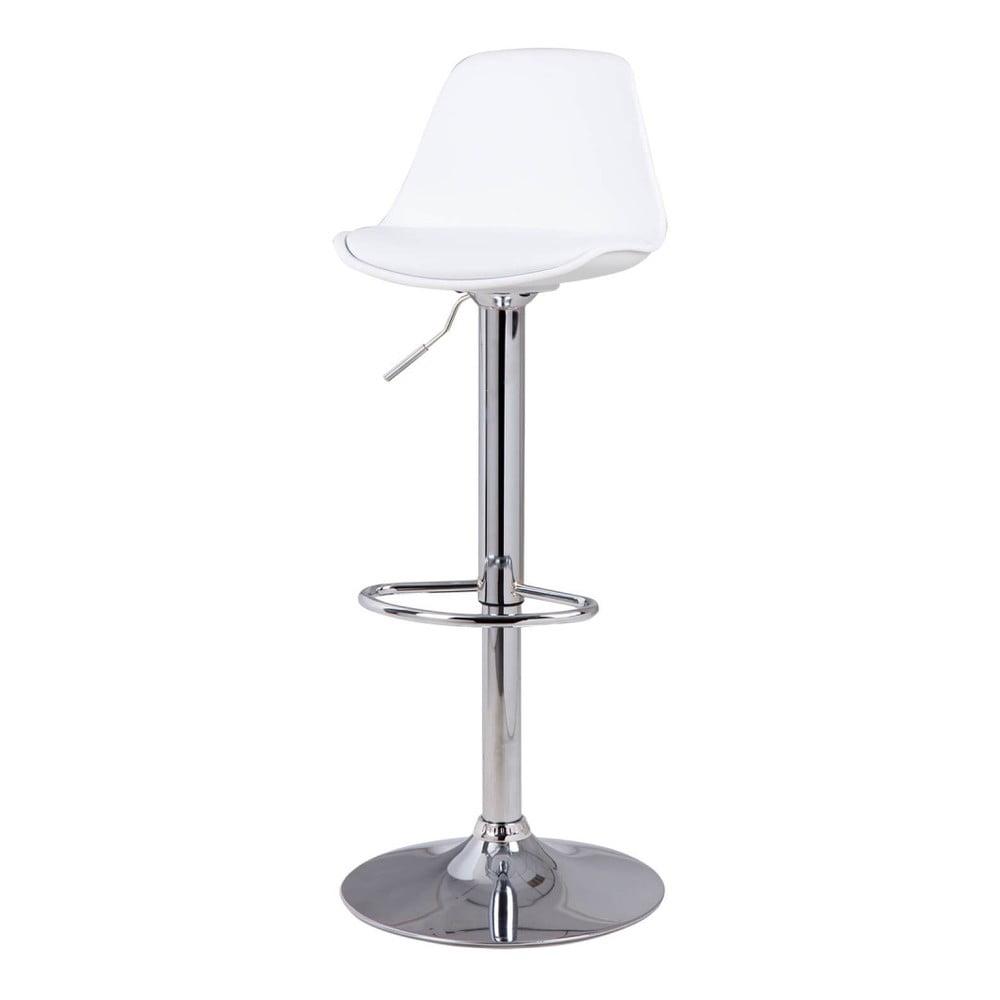 Biela barová stolička sømcasa Nelly, výška 104 cm