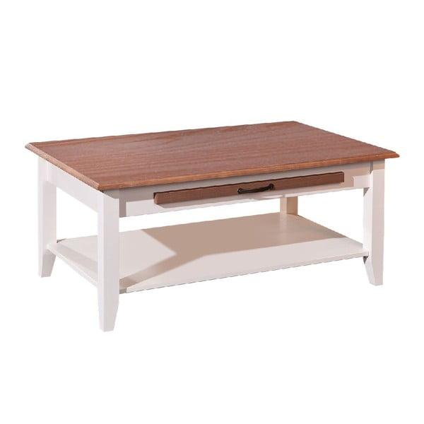Biely drevený konferenčný stolík 13Casa Tolosa
