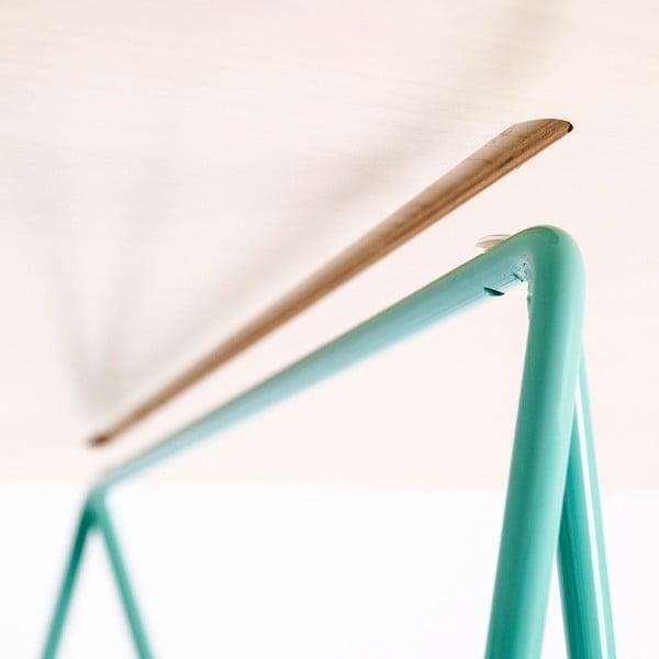 Doska stolu Flat - bielené drevo, 150x75 cm