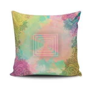 Vankúš s prímesou bavlny Cushion Love Melo, 45 × 45 cm