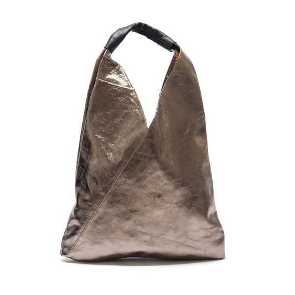 Metalická kožená kabelka Isabella Rhea Tribulus