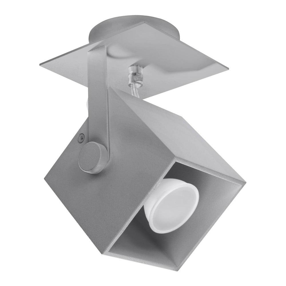 Sivé stropné svietidlo Nice Lamps Noe Uno