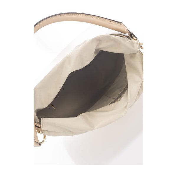 Kožená kabelka Huberta, taupe