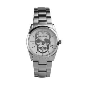 Pánske hodinky striebornej farby Zadig & Voltaire Ezop