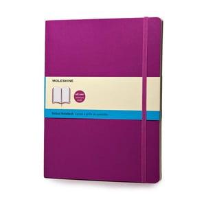 Zápisník Moleskine Under Purple, 19x25 cm