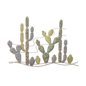 Nástenná dekorácia s motívom kaktusu Mauro Ferreti Cactus, 64 cm