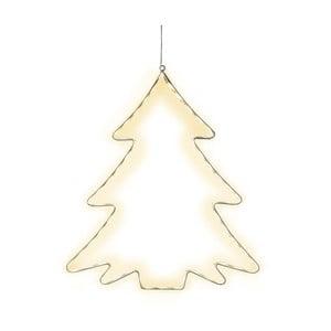 Závesná svietiaca LED dekorácia Best Season Lumiwall Tree