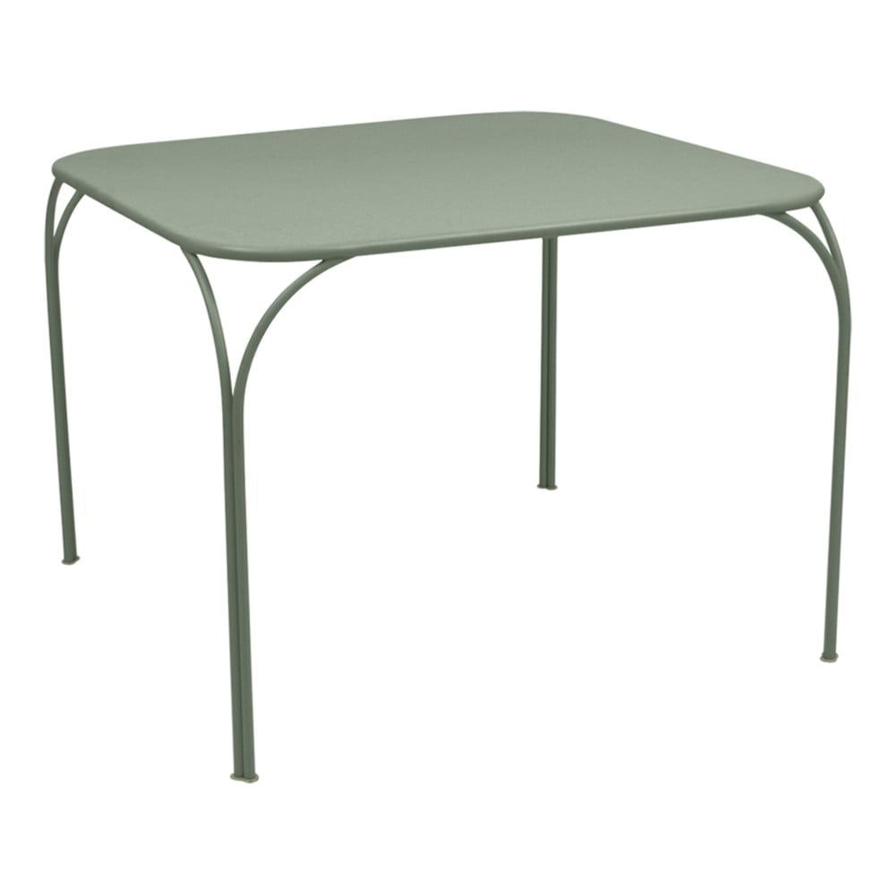 Sivozelený záhradný stolík Fermob Kintbury