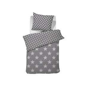 Sivé bavlnené posteľné obliečky Damai Starville Grey, 150 x 120 cm