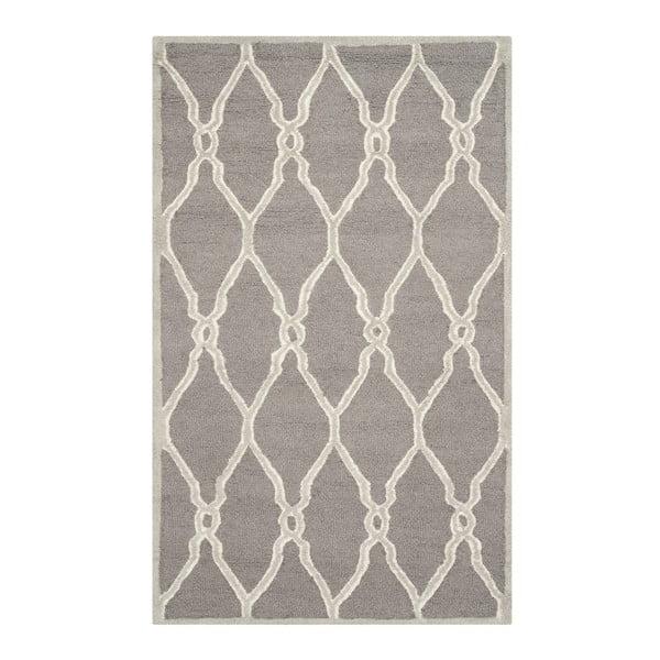 Vlnený koberec Augusta, 91x152 cm