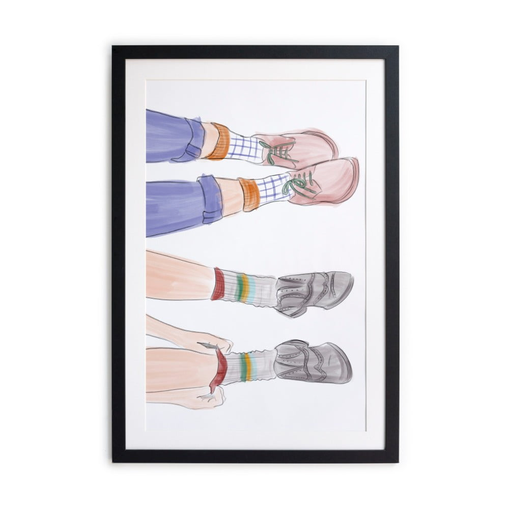 Obraz Really Nice Things Feet 40 × 60 cm