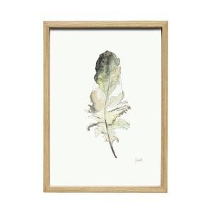 Obraz s rámom Hübsch Joar, 35×50 cm