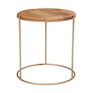 Príručný stolík s doskou z mangového dreva House Nordic Babur