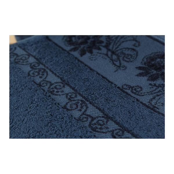 Sada 3 osušiek Selen Dark Blue, 50x90 cm
