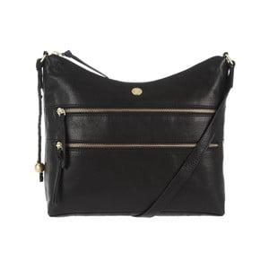 Dámska kožená taška Ginny Black
