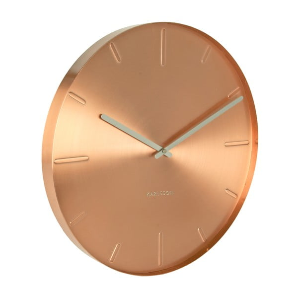 Hodiny Present Time Belt Copper