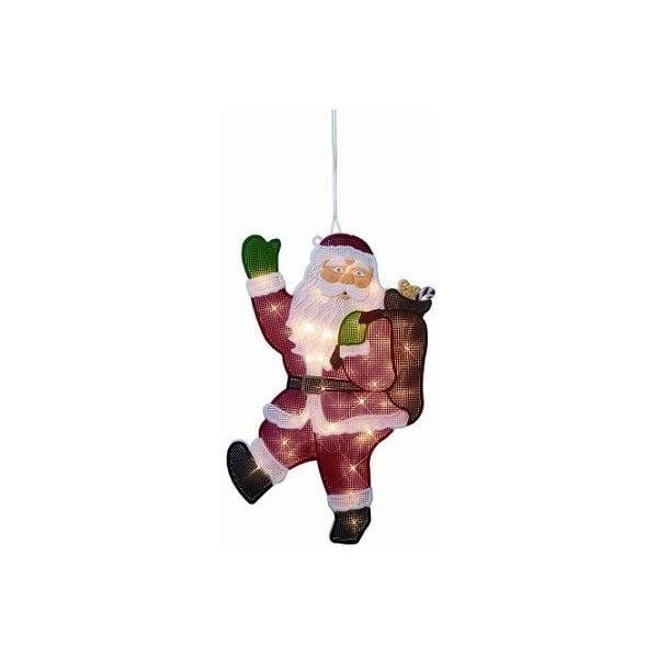 Svietiaca dekorácia Double Santa