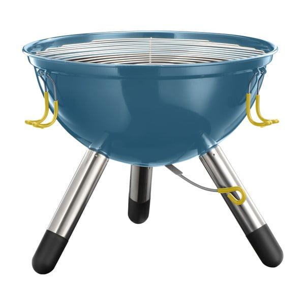 Menší modrý prenosný gril Jamie Oliver
