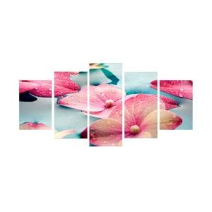 5-dielny obraz Krása kvetov
