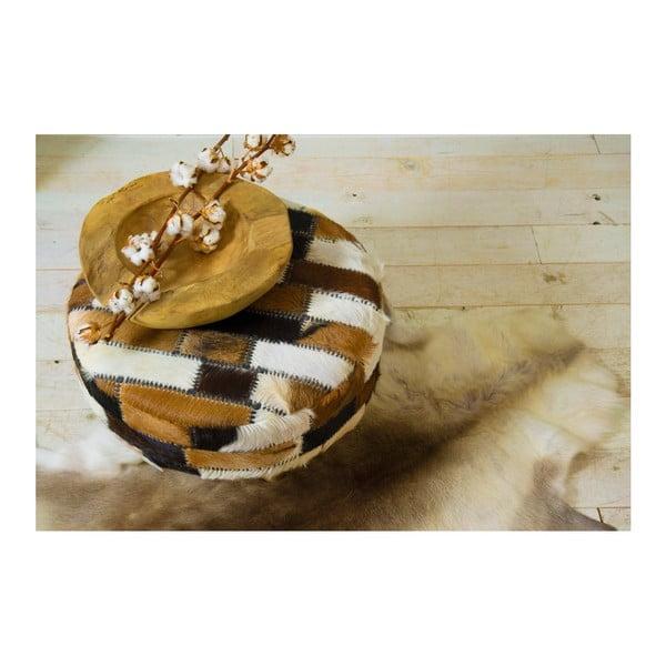 Misa na ovocie z teakového dreva HSM Collection Mara, ⌀ 20 cm