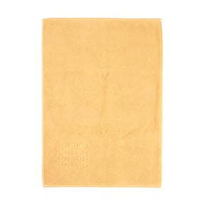 Žltá bavlnená kúpeľňová predložka CasaDiBassi Basic,50×70cm